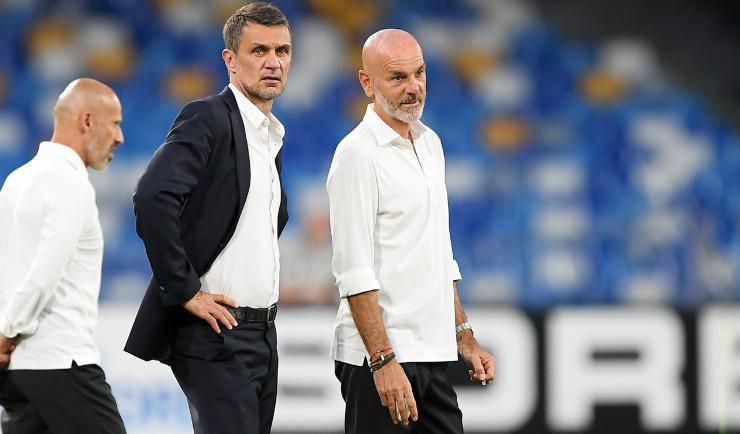 Stefano Pioli Paolo Maldini