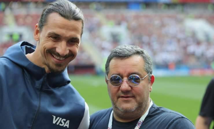 Mino Raiola Zlatan Ibrahimovic