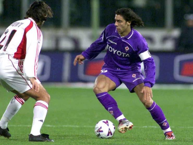Rui Costa Fiorentina Milan