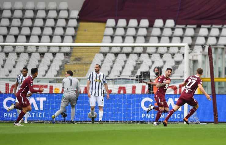Torino Juventus Classifica