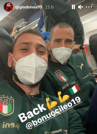 Bonucci e Donnarumma
