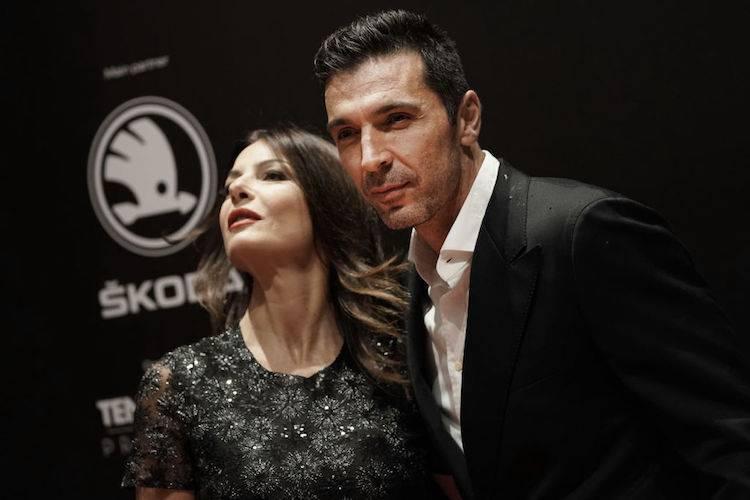 Ilaria D'Amico e Gianluigi Buffon