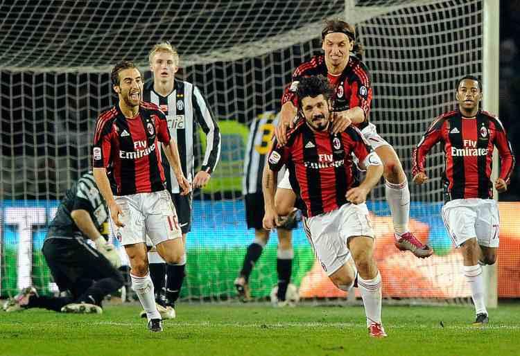 Gattuso Juventus-Milan