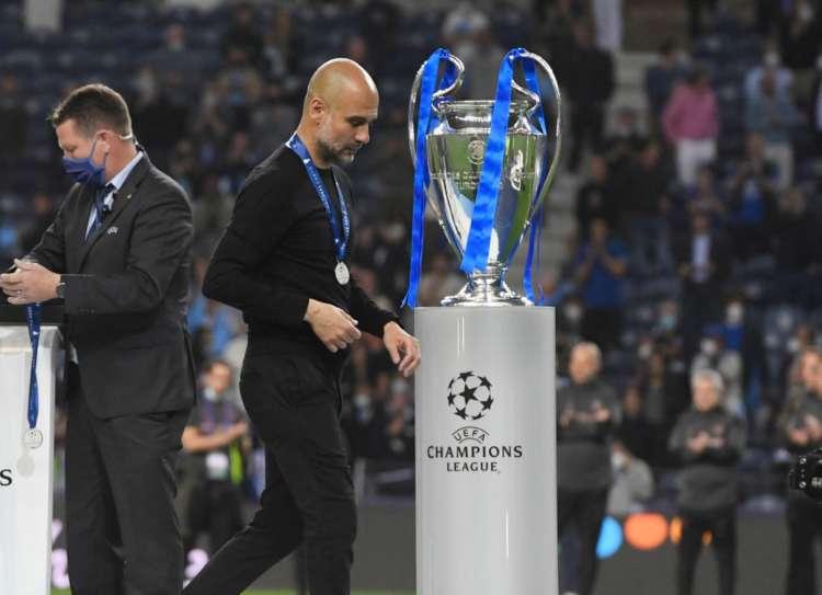 Guardiola e la Champions League
