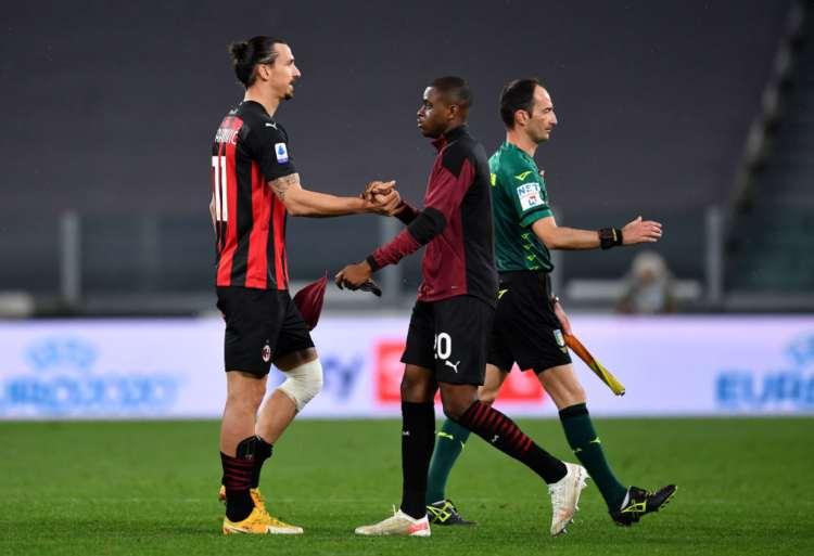 Ibrahimovic e Kalulu