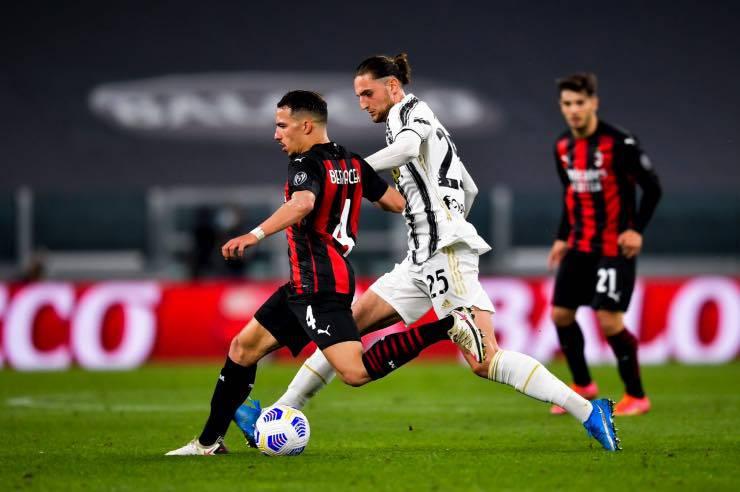 Ismael Bennacer Juve Milan