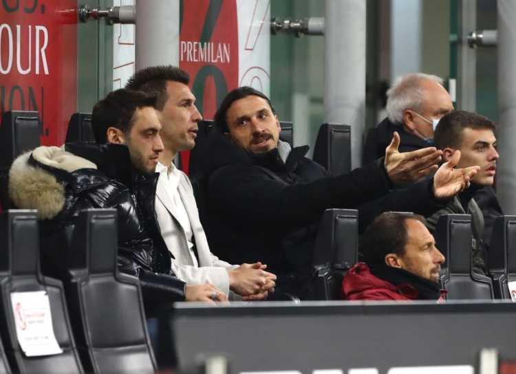 Mandzukic e Ibrahimovic