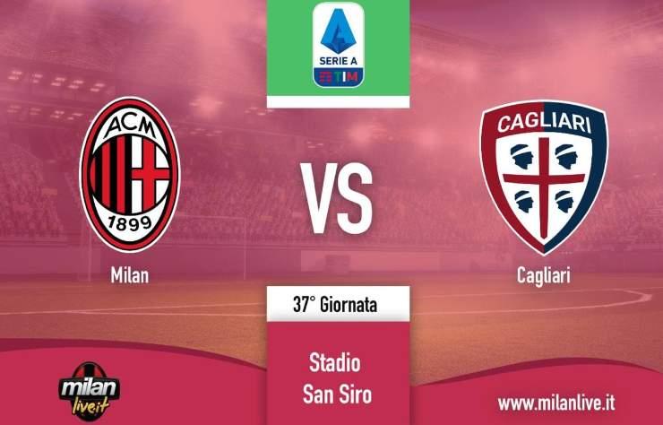Milan Cagliari Live