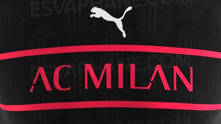 Terza maglia Milan 2022