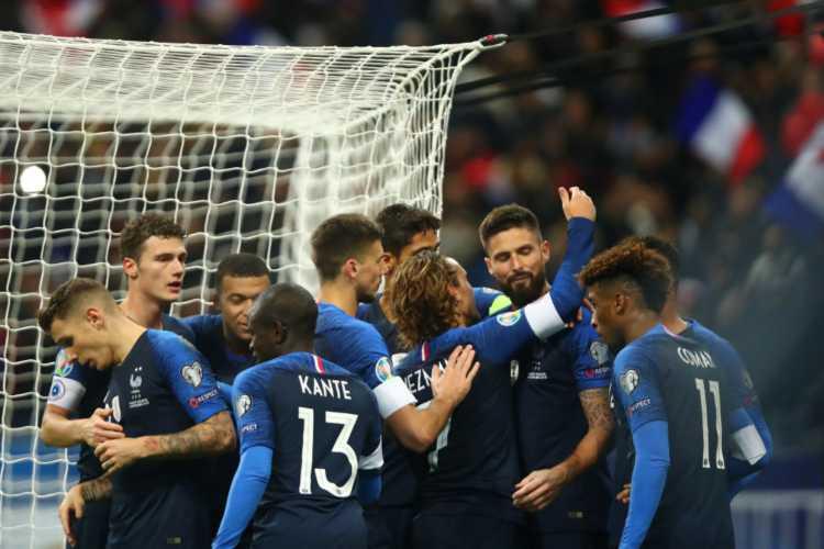Nazionale Francia