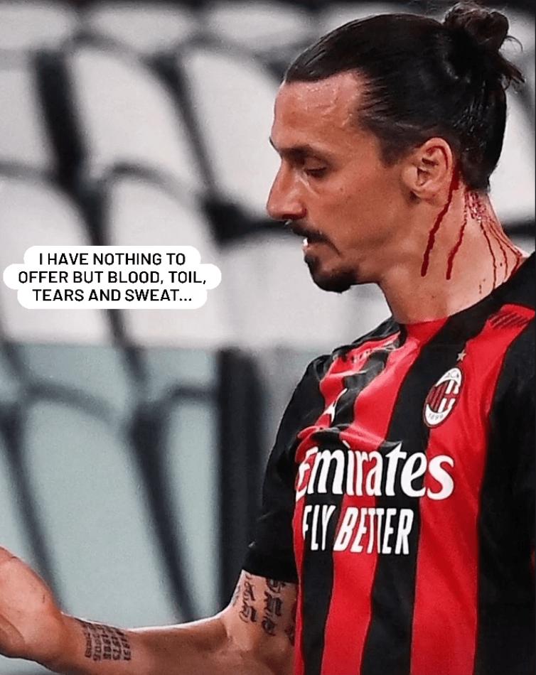 Ibrahimovic Instagram