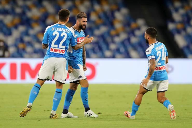 Giocatori Napoli