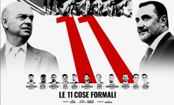 Milan cose formali 2017
