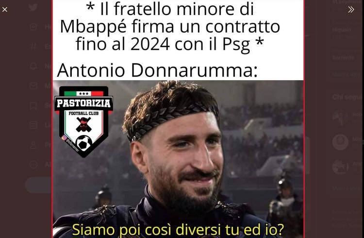 Antonio Donnarumma, meme