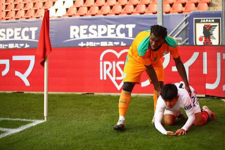 Franck Kessie in Nazionale