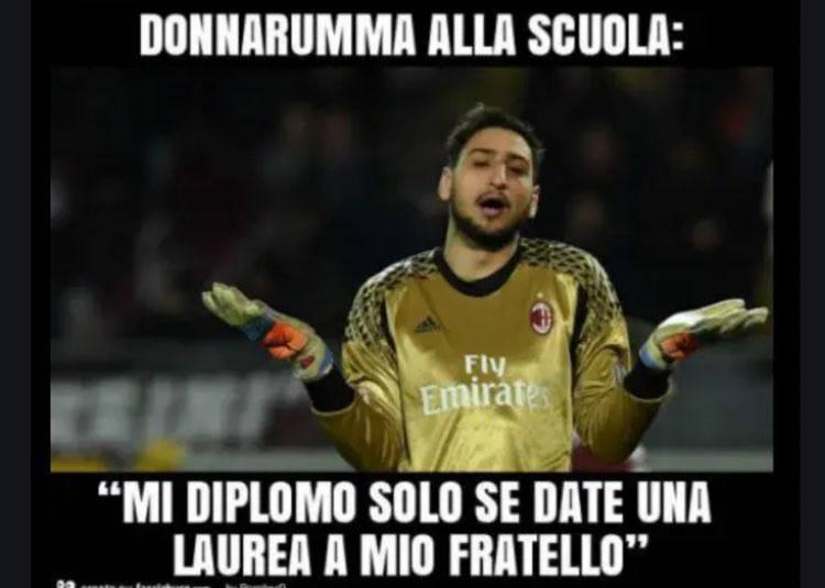 Meme Antonio e Gigio Donnarumma