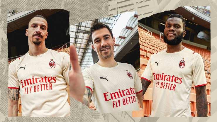 Milan seconda maglia 2022