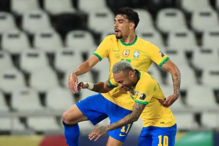 Paquetà e Neymar