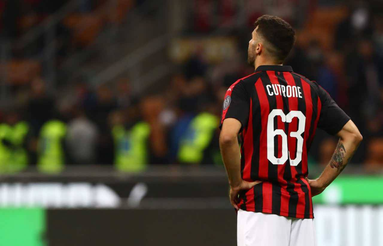 """Cutrone: """"Potevo andare all'Inter. Ritorno al Milan? Devo sentire ..."""