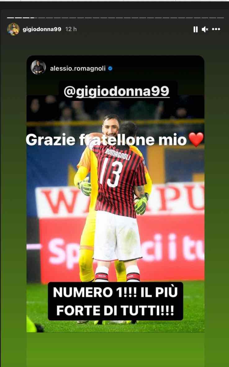 Storia Instagram Romagnoli
