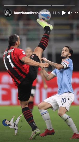Ibrahimovic Lazio spaccata