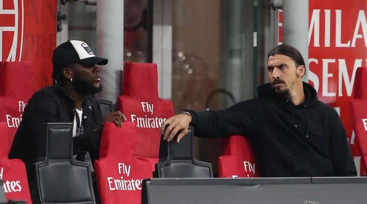 Franck Kessie e Zlatan Ibrahimovic
