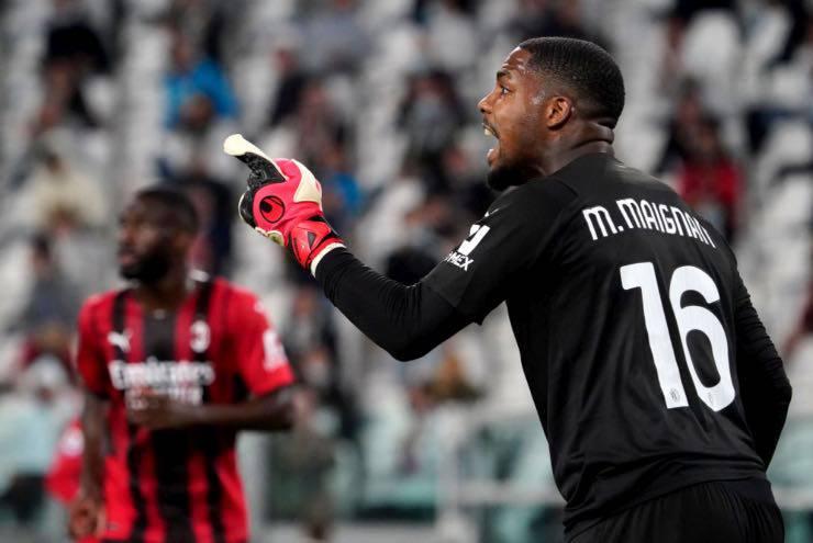 Mike Maignan Juventus-Milan