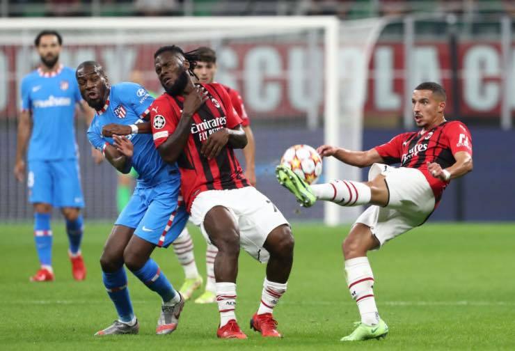 Milan-Atletico Madrid