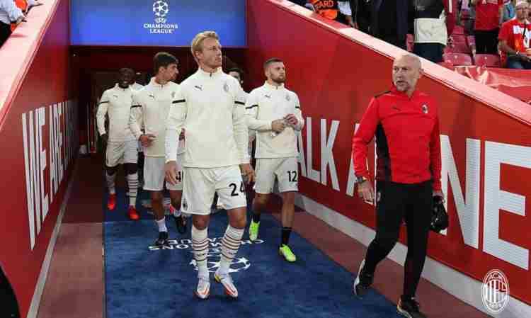 Milan a Liverpool