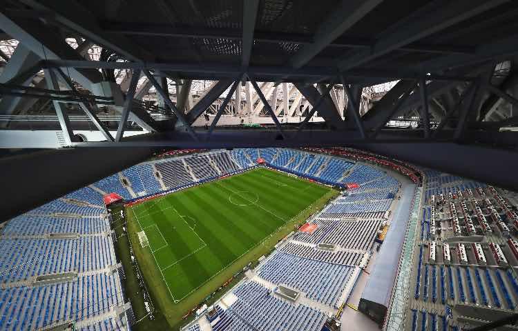 Stadio San Pietroburgo, Zenit