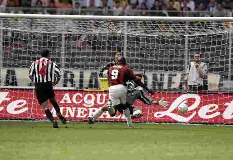 Weah Juventus-Milan