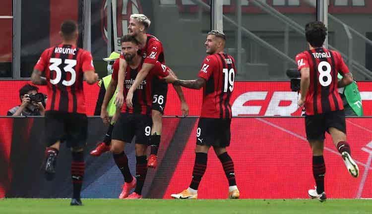 Milan festeggia Giroud