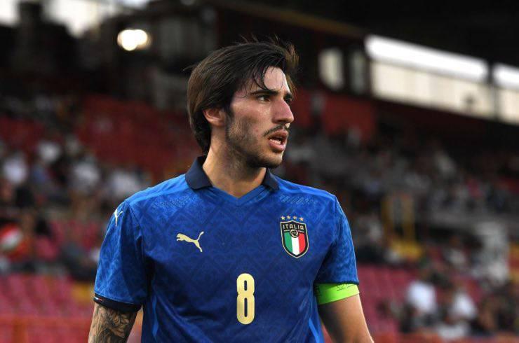 Sandro Tonali Italia U21